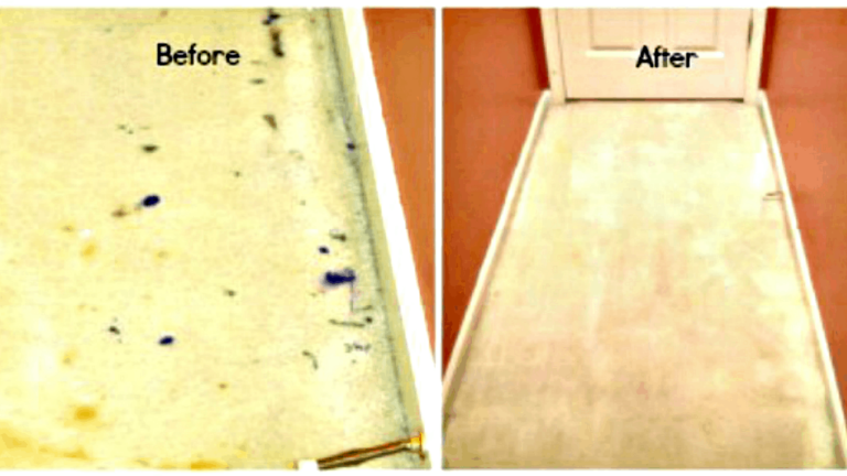 How to get dried paint out of carpet from HousewifeHowTos