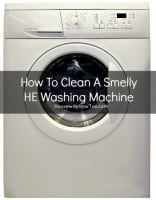 How to clean a smelly HE washing machine from HousewifeHowTos