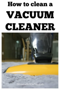 How to clean a vacuum cleaner Protect the life of your machine and get your floors cleaner with this easy routine