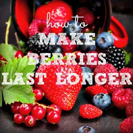 How to make berries last longer from HousewifeHowTos.com