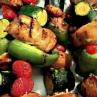 Tangy Curry Chicken Kebab Recipe | Easy enough for a weeknight dinner