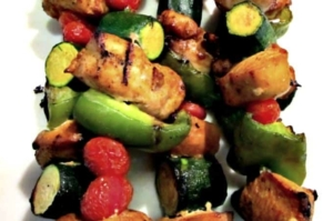 Tangy Curry Chicken Kebab Recipe