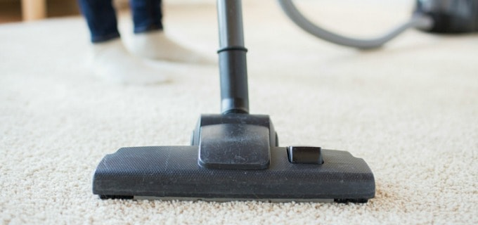 Weekly Bedroom Cleaning Checklist - Vacuum  the floor last