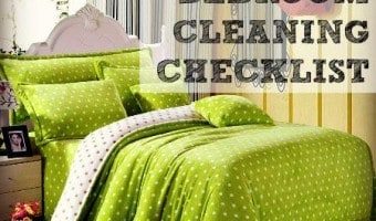 Weekly Bedroom Cleaning Checklist Printable