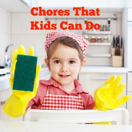chores that kids can do from HousewifeHowTos.com