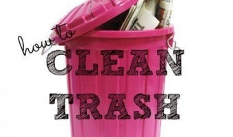 How To Clean Trash Cans