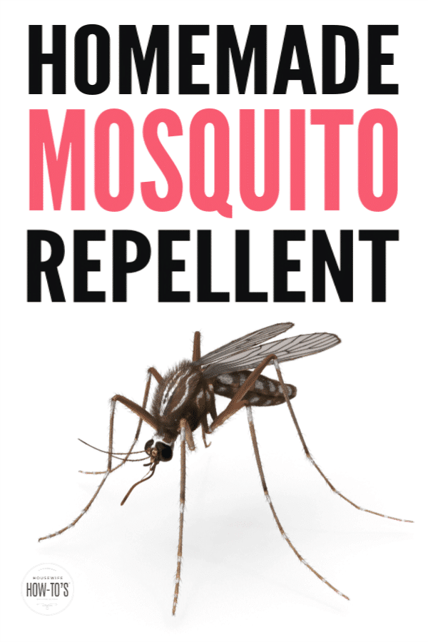 Homemade Mosquito Repellent - Skip the