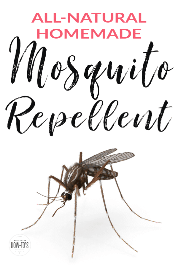 Homemade Natural Mosquito Repellent keeps those pests away from your family