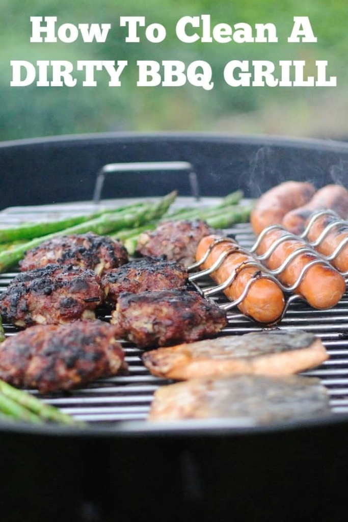 How To Clean A Dirty BBQ Grill Once I started following these steps I had fewer flareups and food does not get stuck anymore