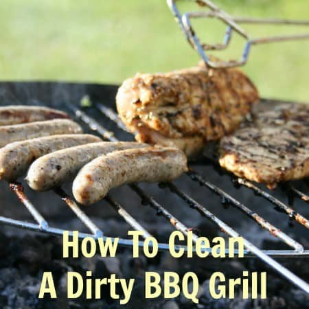 How to clean a dirty BBQ grill from HousewifeHowTos.com