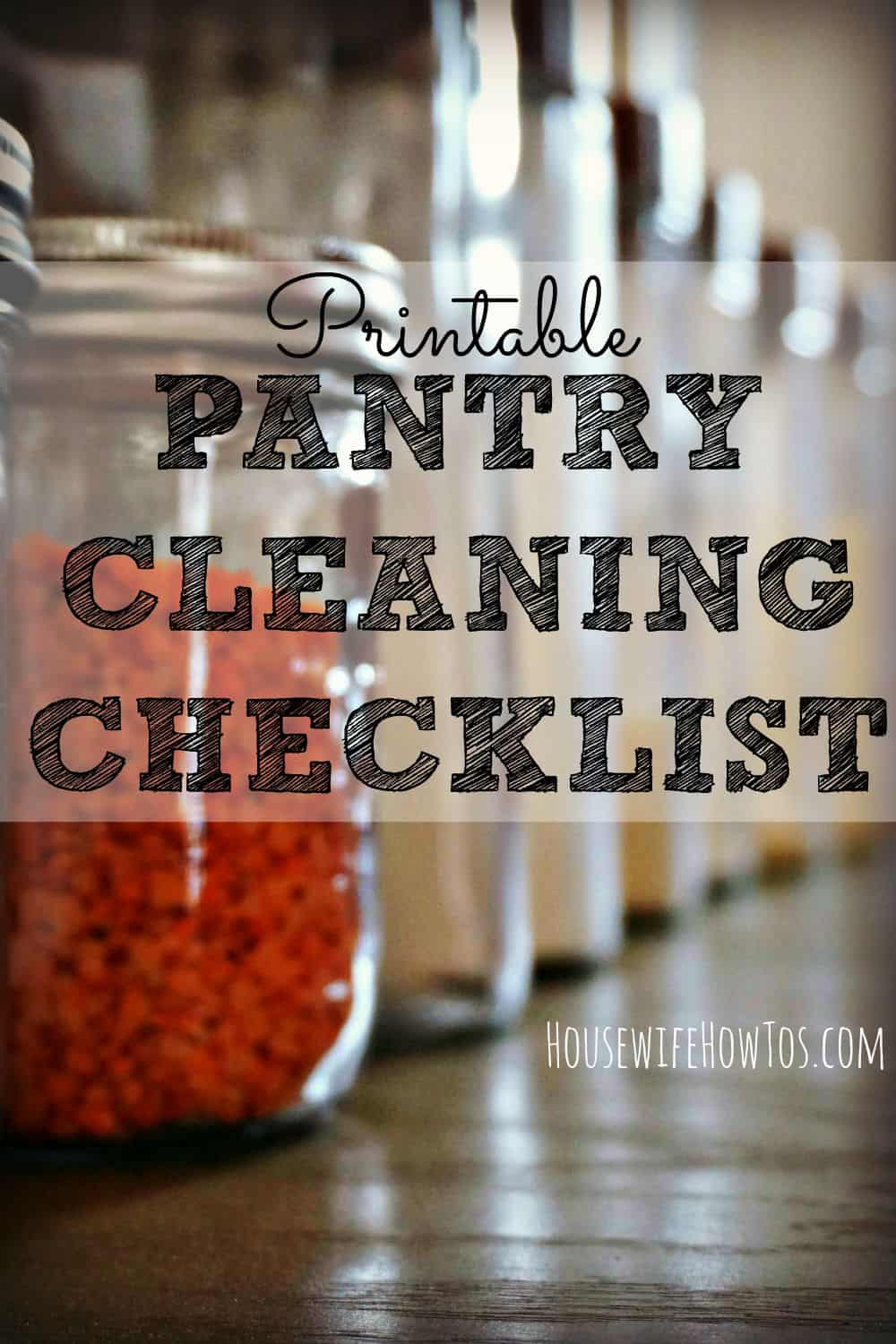 Follow these 9 steps to get your pantry clean, organized, and more efficient than ever before!