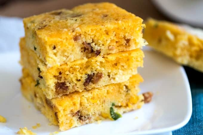 Tex-Mex Cornbread - It is even better the second day