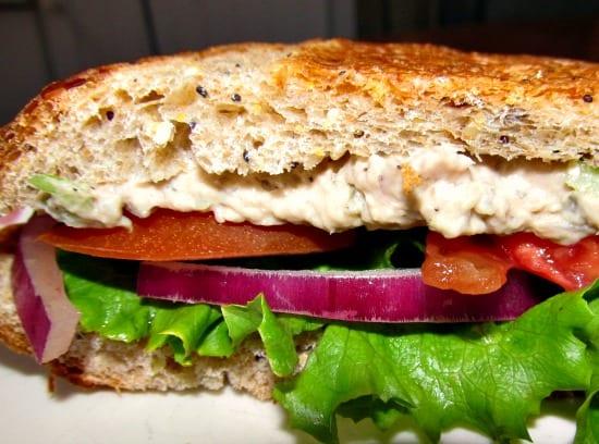 A Month of School Lunch Ideas - Roast Beef Sandwich Spread