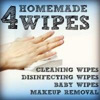 Homemade Wipes Recipes: Four Easy Recipes