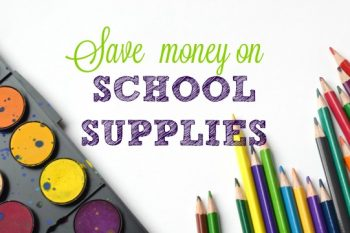 Back-To-School: Save Money On School Supplies