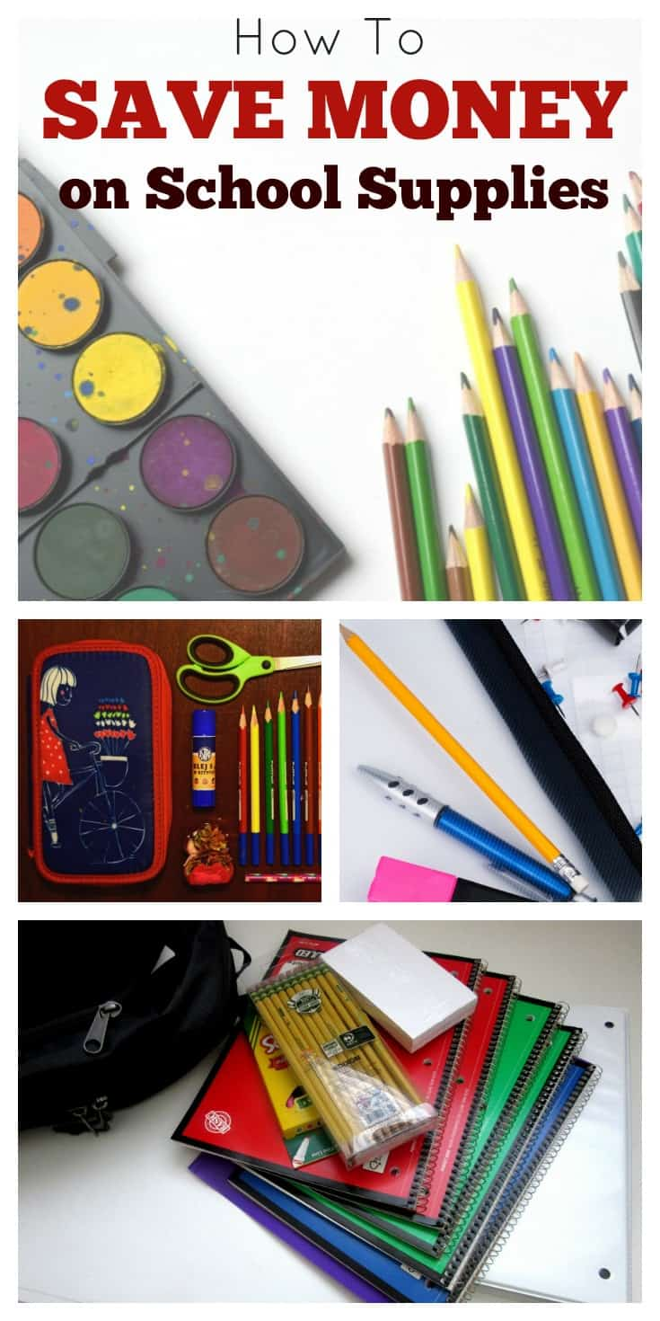 How To Save Money On School Supplies | These 7 Easy Tips to ave money on back-to-school supplies can also help you save money all year, too!