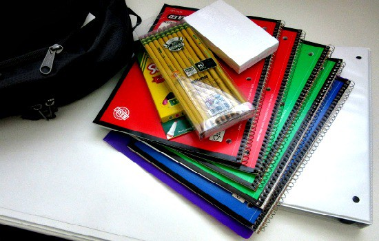 How To Save Money On School Supplies - Set Up A Storage Supply Area
