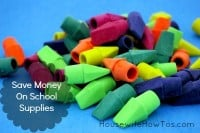 Save money on school supplies from HousewifeHowTos.com