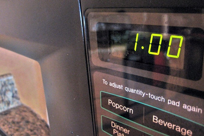 10 Germy Places In Your Home  - Microwave touch screen