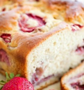 Strawberry Bread Recipe - So good with milk or tea