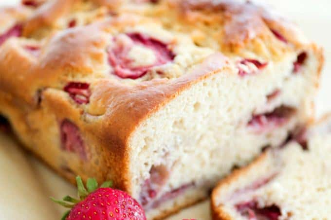 Strawberry Bread Recipe - So good with milk or tea