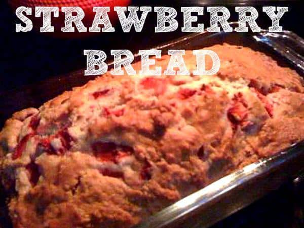 Strawberry bread recipe from HousewifeHowTos.com