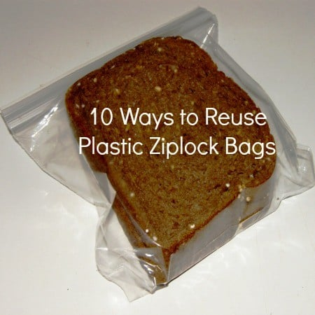 10 Ways To Reuse Zipper Lock Baggies