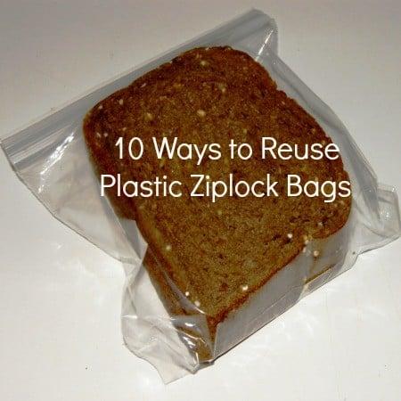 reuse plastic ziplock bags