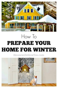 How to prepare your home for winter Five tasks I have learned the hard way to get done before cold weather sets in #homemaintenance