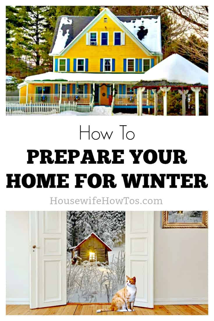 How to prepare your home for winter | Putting off necessary winter preparations can result in severe and costly damage to your home. These steps are easy, so do them! #homemaintenance