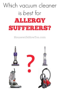 Best Vacuum For Allergy Sufferers Housewife How To S 174