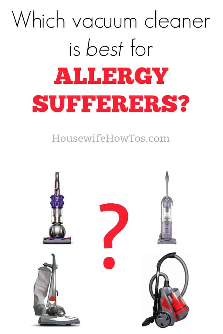 Best vacuum for allergy sufferers? Canister? Bagless? Bagged? I've tried them all, and here's what I learned.