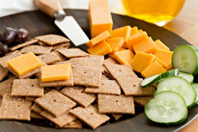 Homemade Wheat Thins Recipe