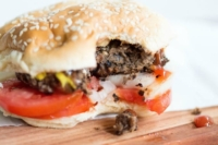 Black Bean Burgers - All of the big flavor you expect from a burger