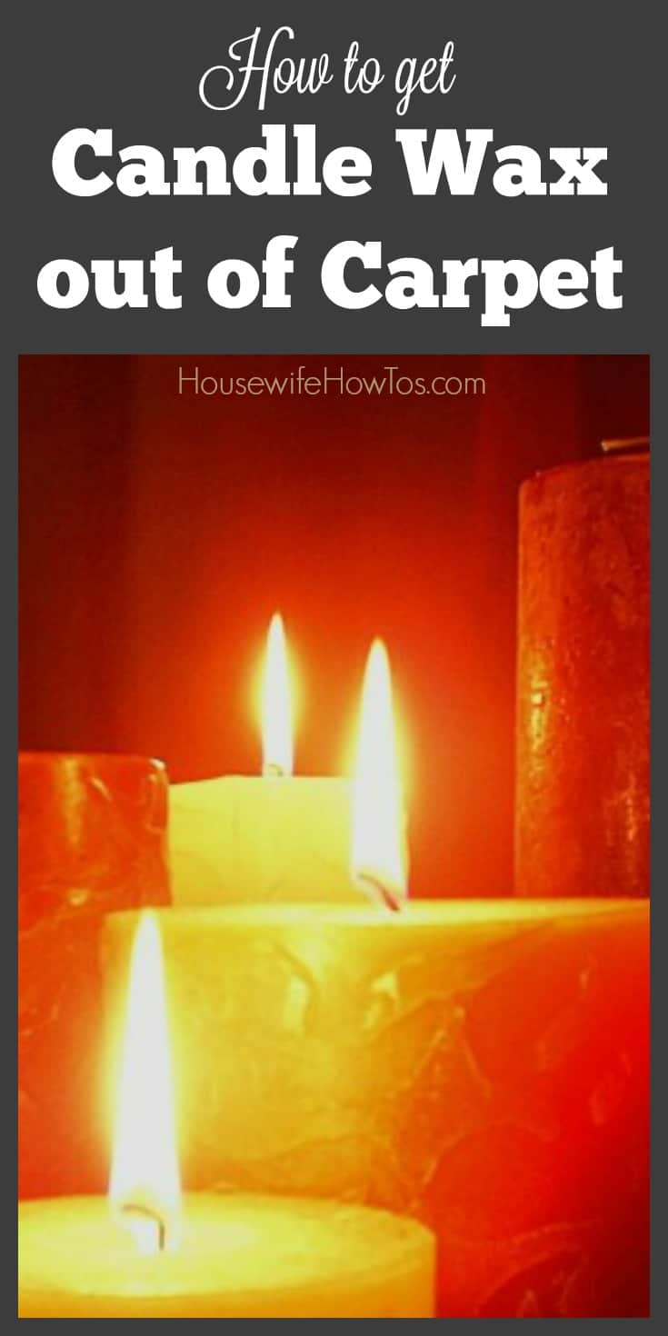 how to get candle wax out of carpet housewife how to 39 s. Black Bedroom Furniture Sets. Home Design Ideas