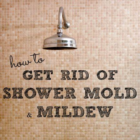 how to get rid of mold in showers from HousewifeHowTos.com