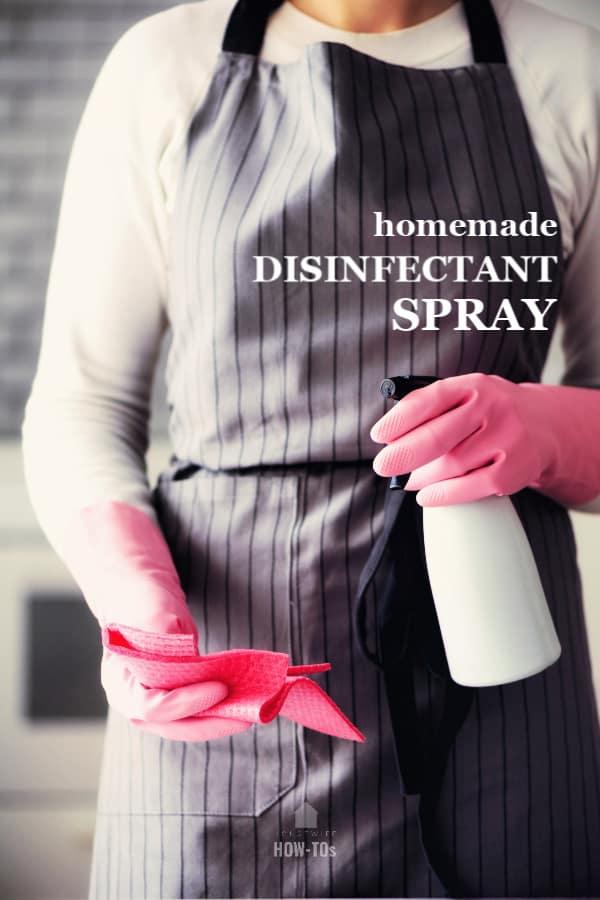homemade disinfectant spray recipe