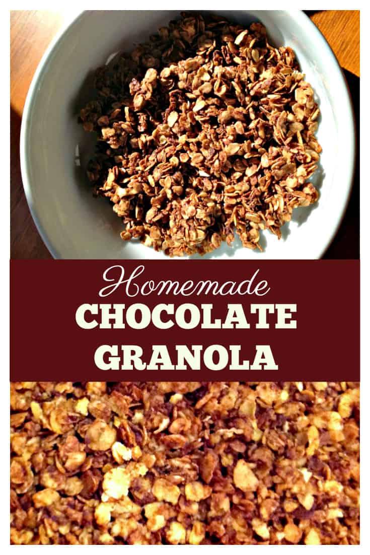 Homemade Chocolate Granola Recipe A Delicious Start To