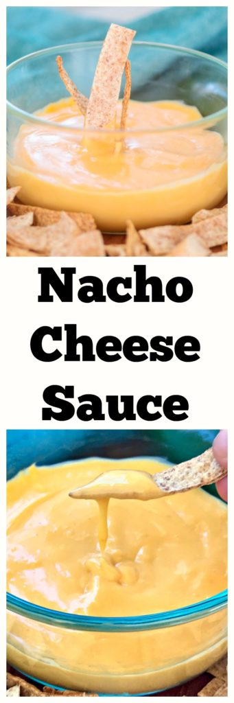 Homemade Nacho Cheese Sauce - No boxed orange goop here! #nachos #appetizer #cheese #dip #queso #realcheese #footballfood