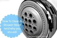 How to clean a shower head from HousewifeHowTos