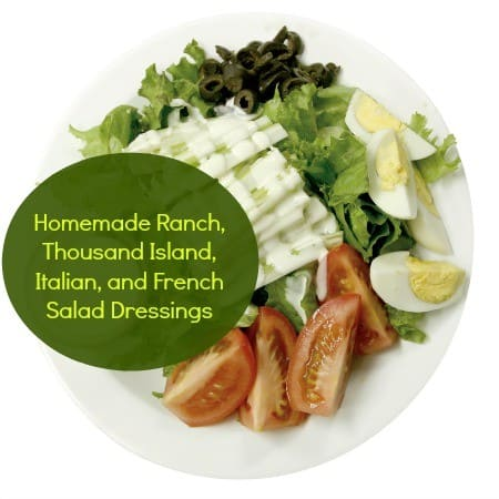 How to make homemade salad dressing from HousewifeHowTos.com