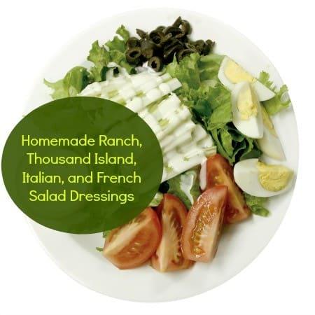 How to make homemade salad dressing from HousewifeHowTos.com