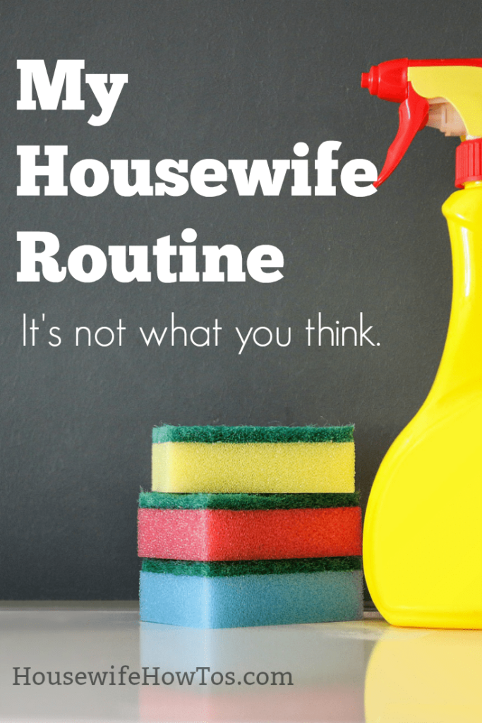 My Housewife Routine | I am often asked what my personal routine is like and the answer is that it is much more relaxed than you think #cleaningroutine #dailyroutine