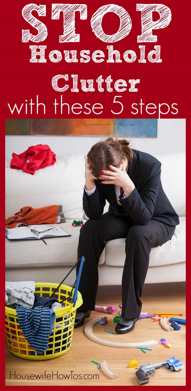 Get rid of the clutter and keep it from returning with these five simple steps.