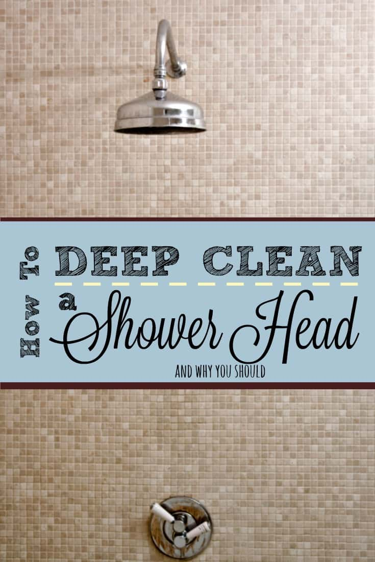 Research shows one-third of shower heads contain a bacteria associated with pulmonary disease. Give yours a deep-cleaning with this method and spray it monthly.