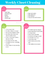 closet cleaning checklist get your closet clean and organized today