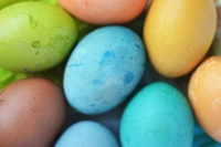 Easter Egg Tips: Boiling, Naturally Dyeing and Using What's Left