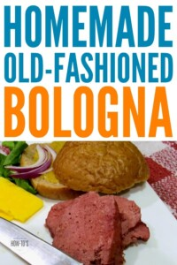Homemade Bologna Recipe - A true old-fashioned bologna like grandad used to love #bologna #beefbologna #retrorecipe #housewifehowtos #beef