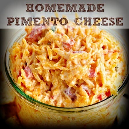 Football Foods - Homemade Pimento Cheese