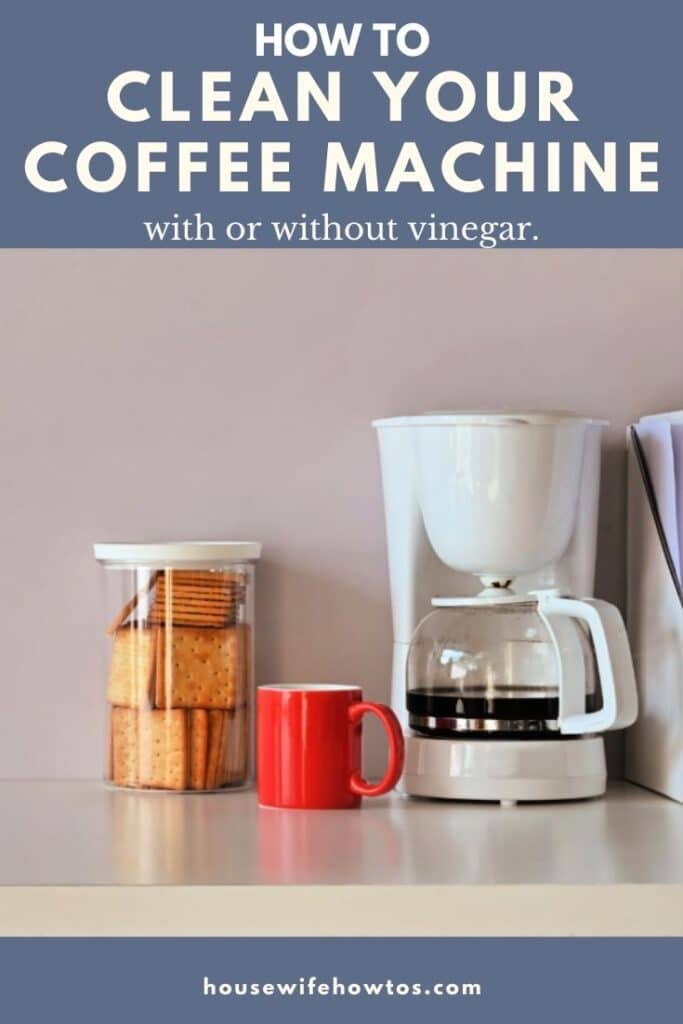 How to Clean a Coffee Machine with or without vinegar
